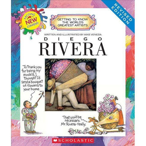 Diego Rivera (Revised Edition) (Getting to Know the World's Greatest Artists) - by  Mike Venezia - image 1 of 1