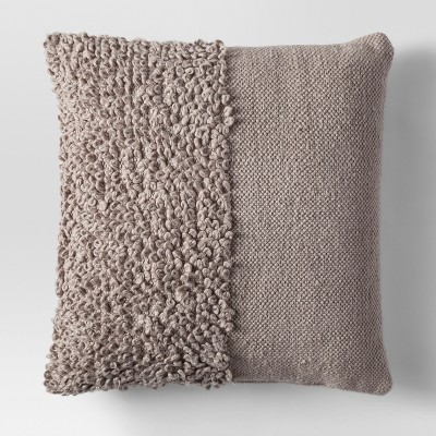 Tan Solid Textured Throw Pillow - Project 62™