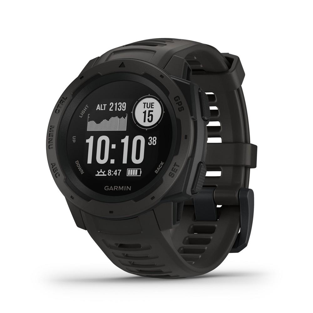 Garmin Instinct Rugged GPS Smartwatch - Graphite was $299.99 now $199.99 (33.0% off)