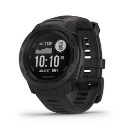 Garmin Instinct Rugged GPS Smartwatch - Graphite