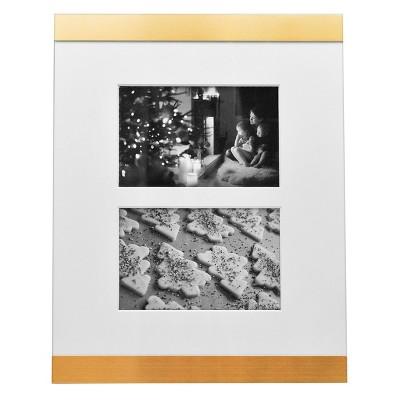4 x6  Kelly Lane Aluminium Frame Brass - Threshold™