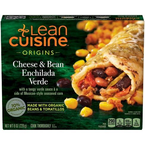 Lean Cuisine Marketplace Frozen Bean and Cheese Enchilada Verde - 8oz - image 1 of 3