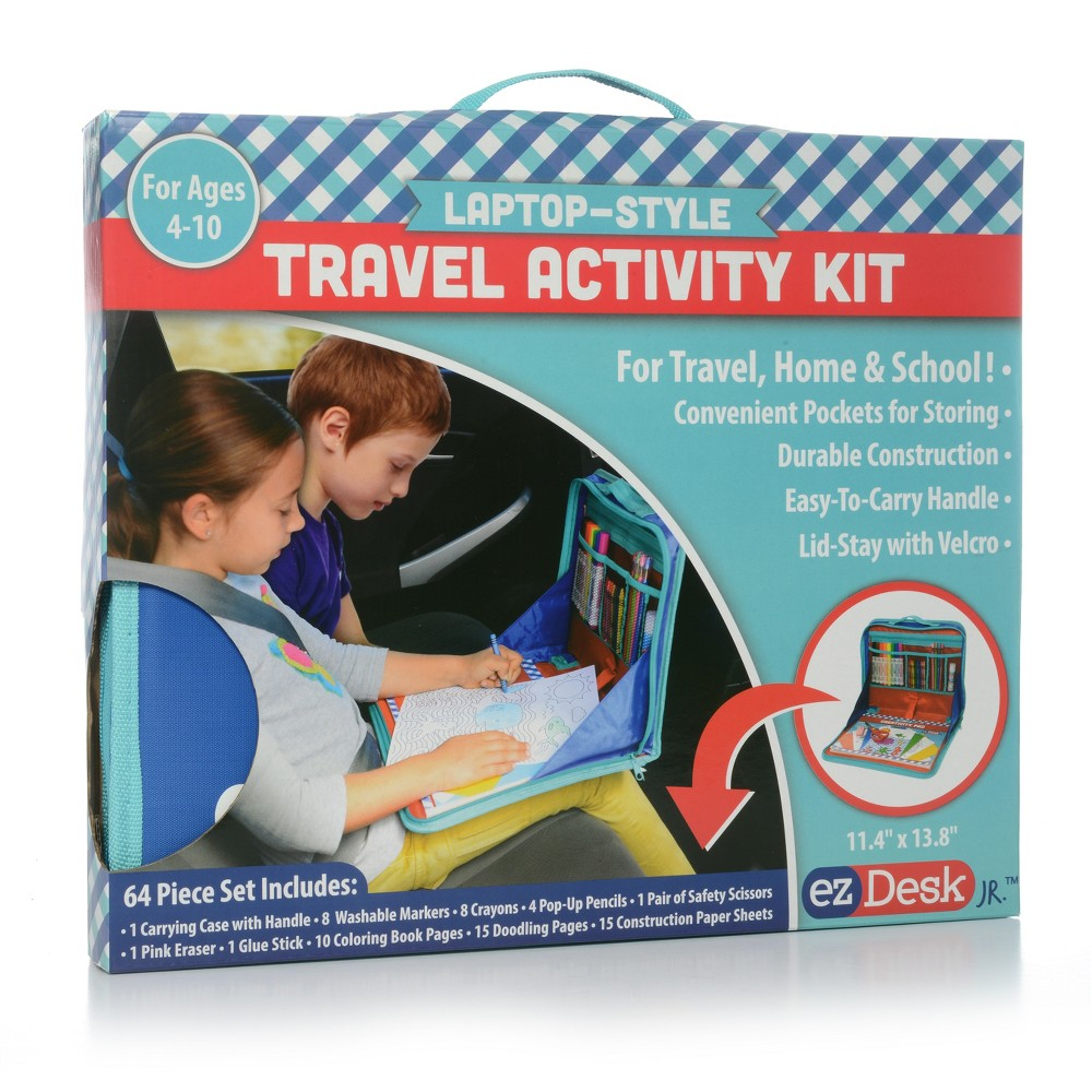 Image of EZDesk Travel Activity Kit - Kittrich