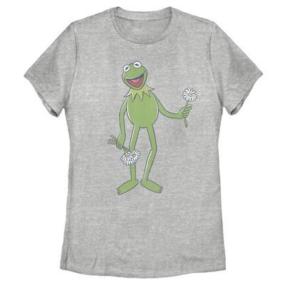 Women's Disney Muppets Kermit Flower Bouquet T-Shirt