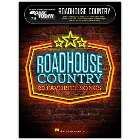 Hal Leonard Roadhouse Country E-Z Play Today Volume 79 - image 1 of 1