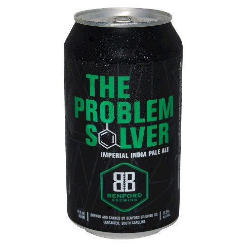 Benford The Problem Solver IPA Beer - 6pk/12 fl oz Cans - image 1 of 2