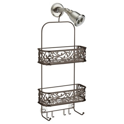 Vine Bathroom Shower Caddy Bronze - InterDesign