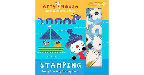 Stamping : Early Learning Through Art (Hardcover) (Mandy Stanley) - image 1 of 1