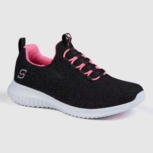 Girls' S Sport by Skechers Ada Slip-On Sneakers - Black - image 1 of 3