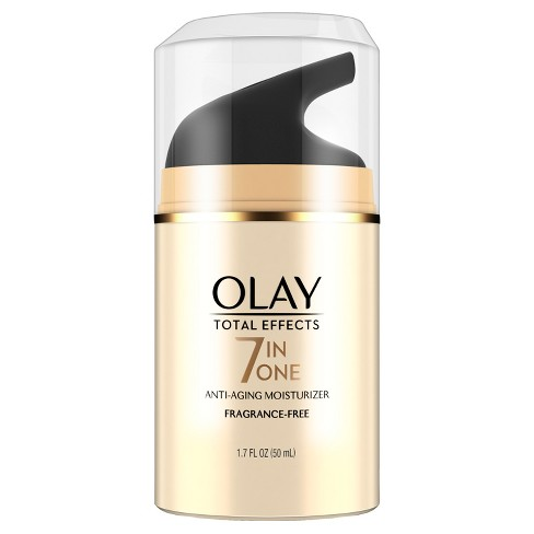 Olay Total Effects Anti-Aging Face Moisturizer, Fragrance-Free 1.7 fl. oz. - image 1 of 3