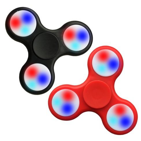 Fidget Spinner Wild LED 2 Pack