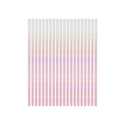20ct Iridescent Paper Straws - Spritz™
