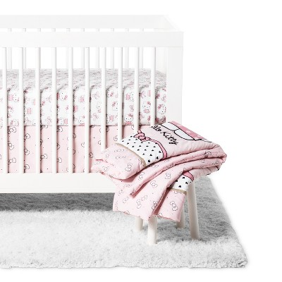 Bedtime Originals Luv Crib Bedding Set Pink - 3pc