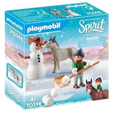 Playmobil Snow Time with Snips & Senor Carrots