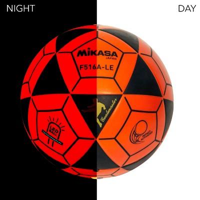 Mikasa LED Soccer Ball, Orange