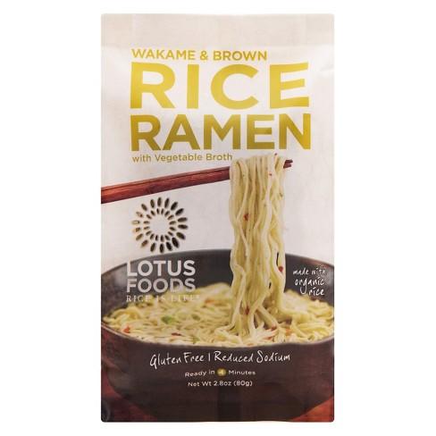 Lotus Foods Rice Ramen Wakame & Brown Rice 2.8 oz - image 1 of 1