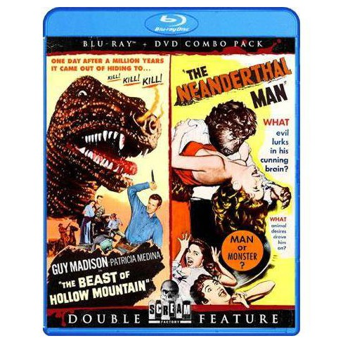 The Beast of Hollow Mountain / The Neanderthal Man (Blu-ray) - image 1 of 1
