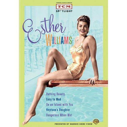 TCM Spotlight Esther Williams Collection (DVD) - image 1 of 1