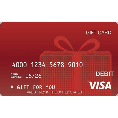 Visa eGift Card - $50 + $5 Fee (Email Delivery)