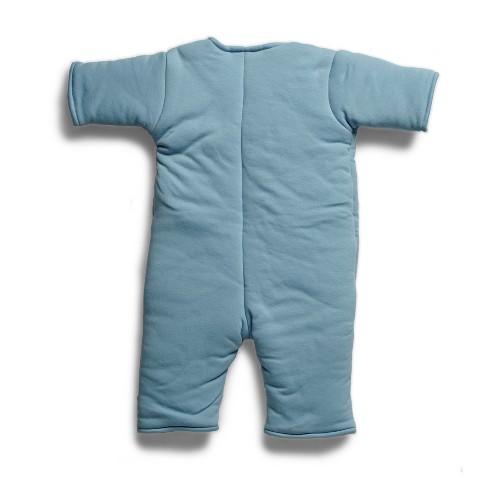 Baby Merlin s Magic Sleepsuit Swaddle Wrap 3-6 Months - Cotton Blue   Target eda12e524