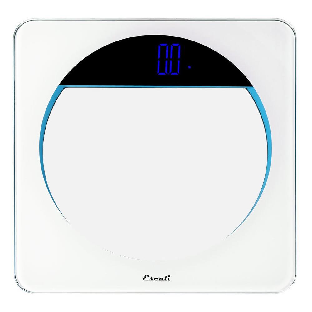 Round Personal Scale - Escali, Clear