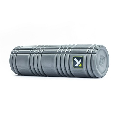 Trigger Point Solid Core Foam Roller 18  - Gray