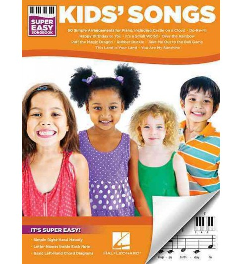 Kids' Songs (Paperback) - image 1 of 1