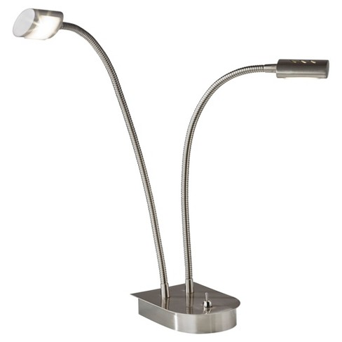 Adesso Eternity LED Gooseneck Desk Lamp - Silver - image 1 of 2