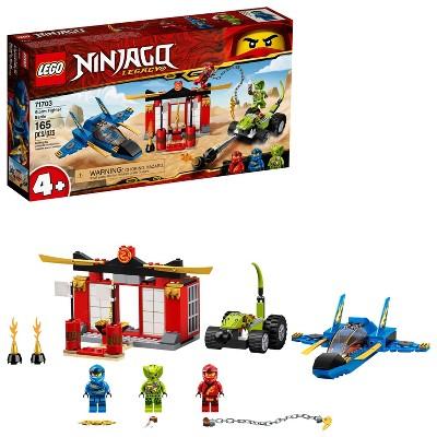 LEGO NINJAGO Legacy Storm Fighter Battle Ninja Playset Building Kit 71703
