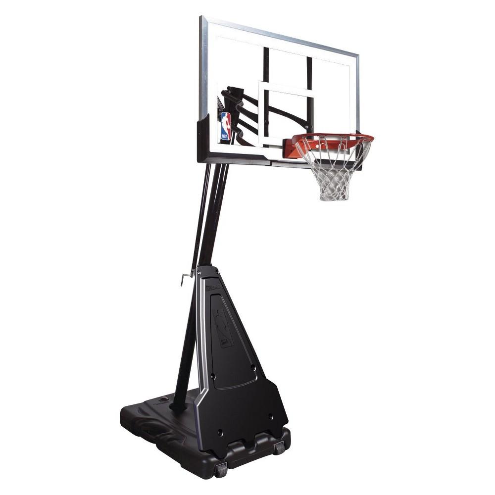 Spalding NBA 60 Acrylic Portable Basketball Hoop