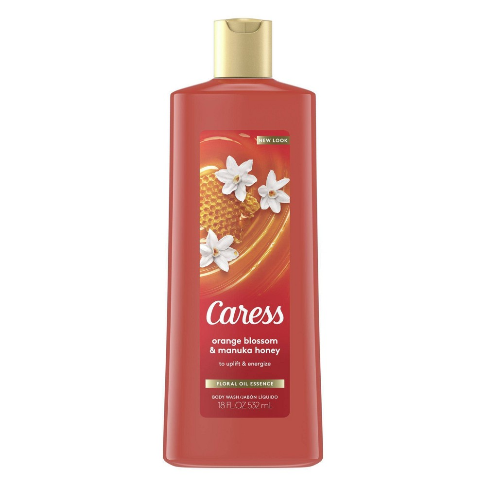 Image of Caress Passionate Spell Passionfruit & Fiery Orange Rose Body Wash Soap - 18 fl oz