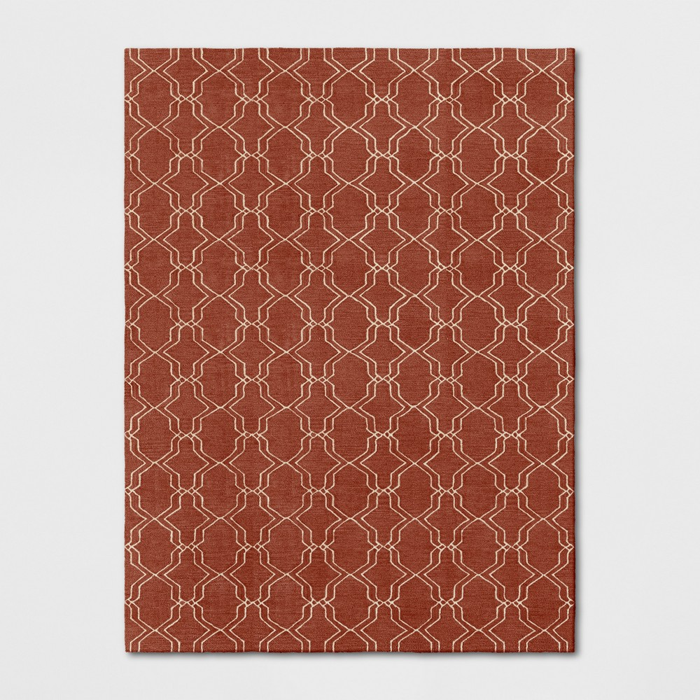 9'X12' Trellis Tufted Area Rugs Red - Threshold