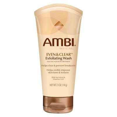 Ambi Skincare Even & Clear Exfoliating Wash - 5oz