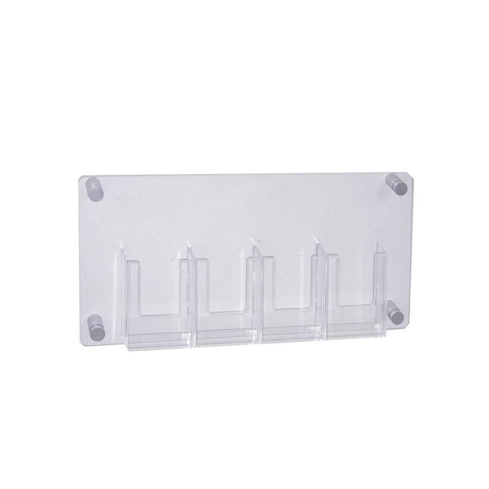 Best Buy Azar Displays 34 X 44 Standoff Sign Holder Medium Clear