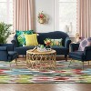Indoor/Outdoor Floral Woven Area Rug - Opalhouse™ - image 3 of 3