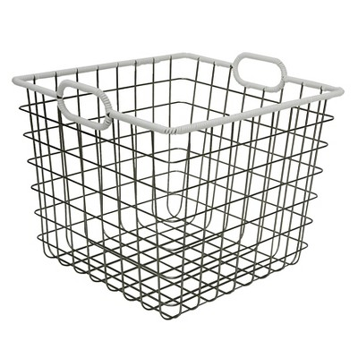 Wire Milk Crate 13  - White - Room Essentials™