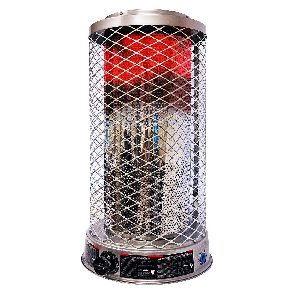 Dyna-Glo Delux 100K Btu Natural Gas Radiant Heater, Gray