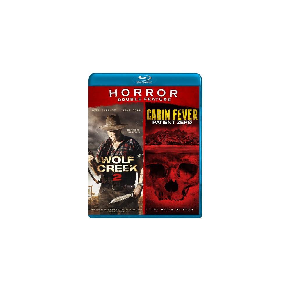 Wolf Creek 2/Cabin Fever (Blu-ray)