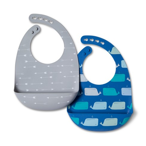 Silicone Bib - Cloud Island™ 2pk - image 1 of 1