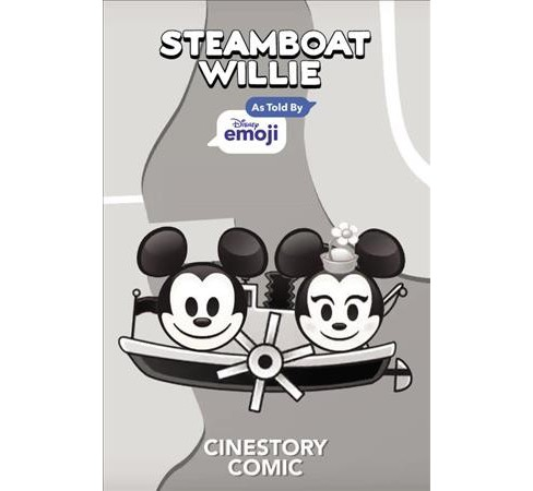 Mickey Mouse in Steamboat Willie : As Told by Emoji -  (Paperback) - image 1 of 1