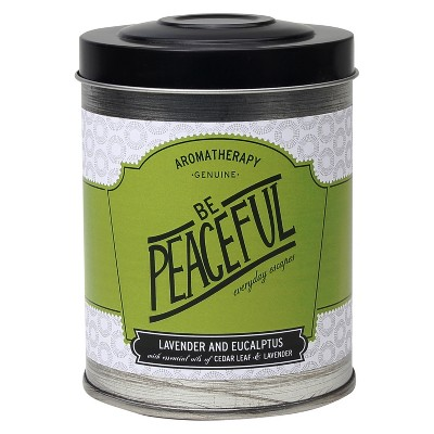 Tin Candle Be Peaceful 8.6oz - Aromatherapy®