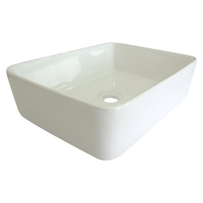 Classic Vitreous China Vessel Bathroom Sink   Kingston Brass