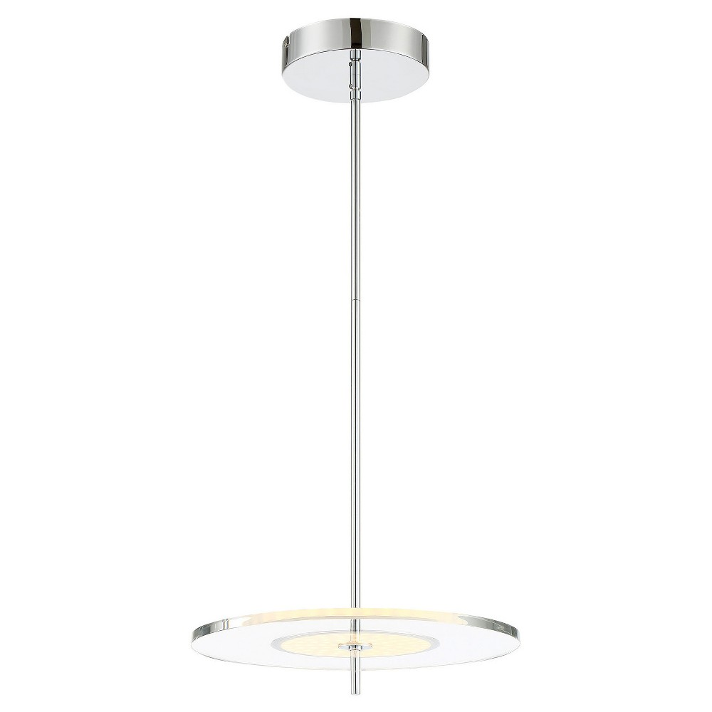 Ceiling Lights Led Otoniel Pendant - Chrome (Grey) - Lite Source