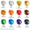 ARTEZA Metallic Acrylic Paint, 22ml Tubes, Set of 12 - image 2 of 4