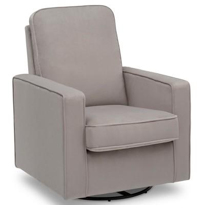 Charmant Delta Children Landry Nursery Glider Swivel Rocker Chair   Cloudy Gray