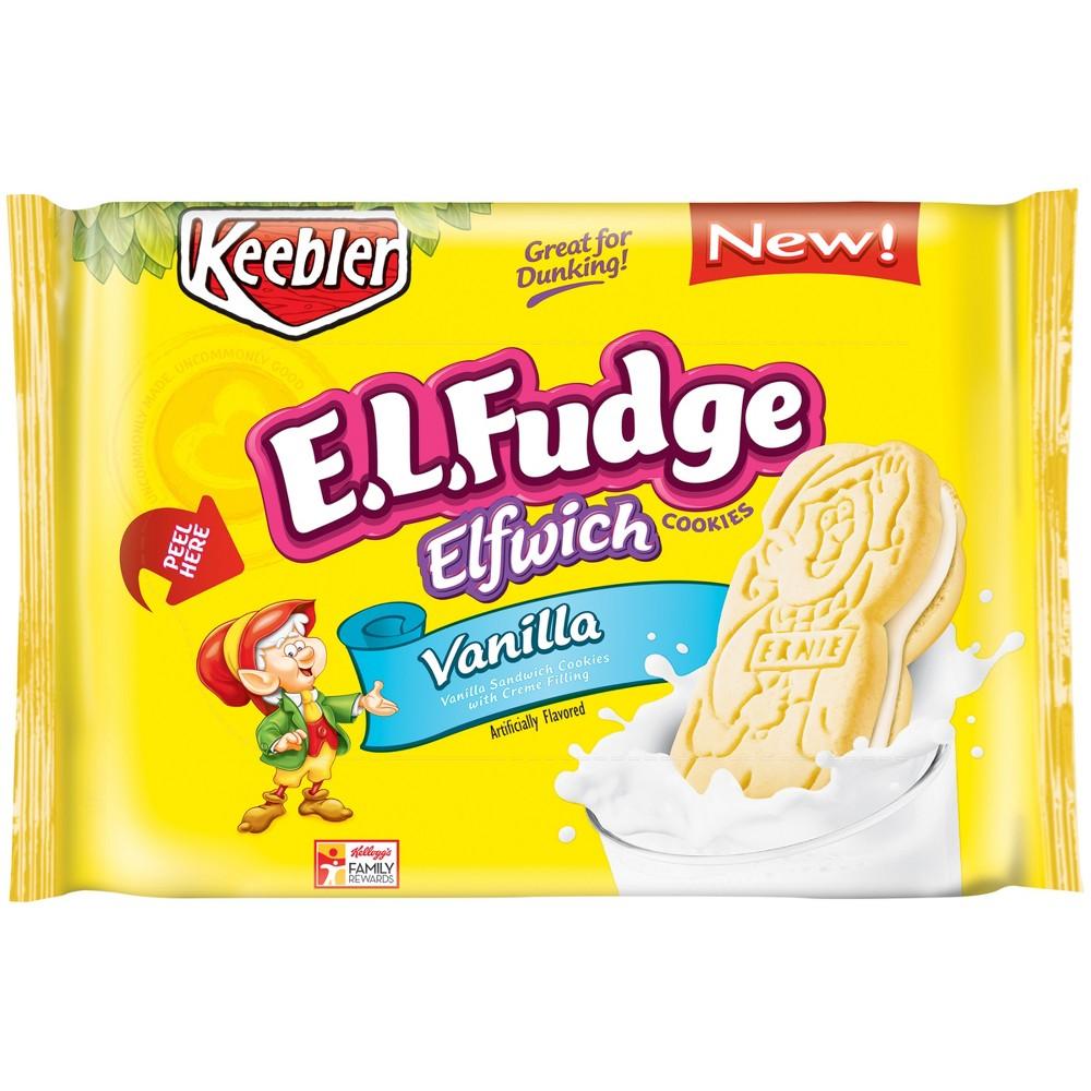 E.L. Fudge Elfwich Vanilla Cookies - 13.6oz