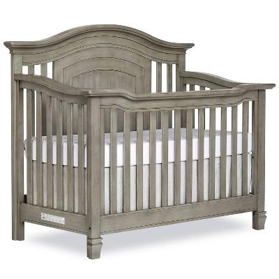 Evolur Fairbanks 5-in-1 Convertible Crib - Ash Gray