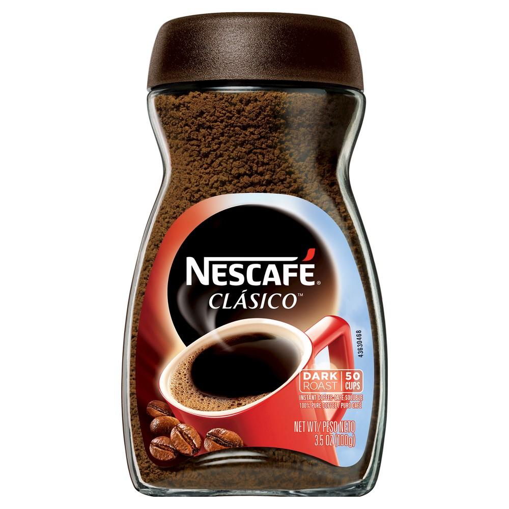 Nescafé Classico Dark Roast Instant Coffee - 3.5oz