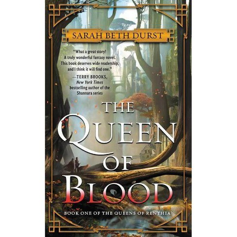 The Queen of Blood - (Queens of Renthia) by  Sarah Beth Durst (Paperback) - image 1 of 1