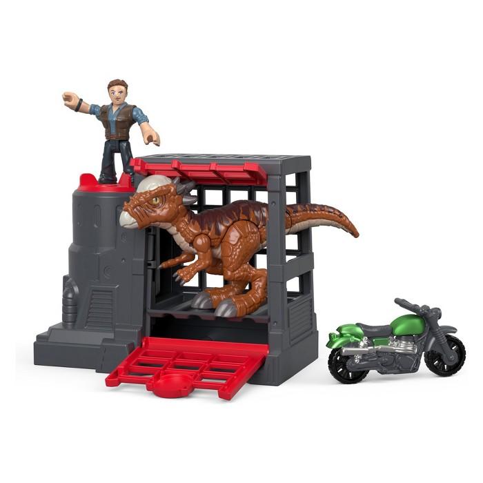 Fisher-Price Imaginext Jurassic World Stygimoloch & Owen Set - image 1 of 5